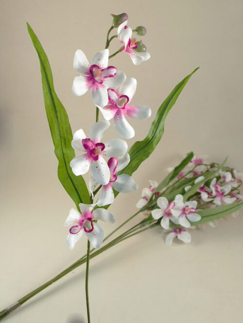 Orchidea wanda artificiale decorativa Col. lilla